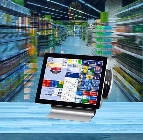 LOC Grocery POS Screen